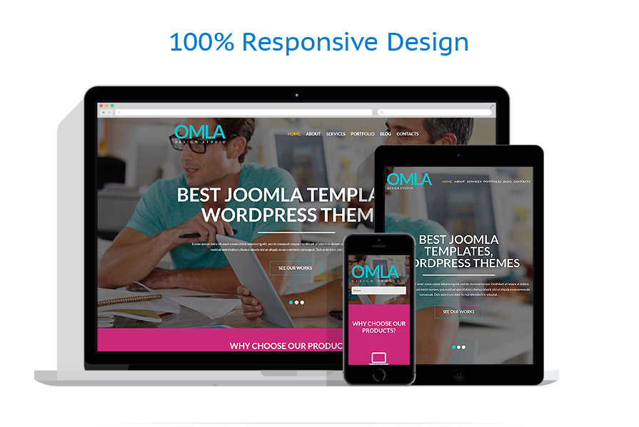 Web Design Agency WordPress Theme #52037