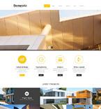 Architecture WordPress Template 52038