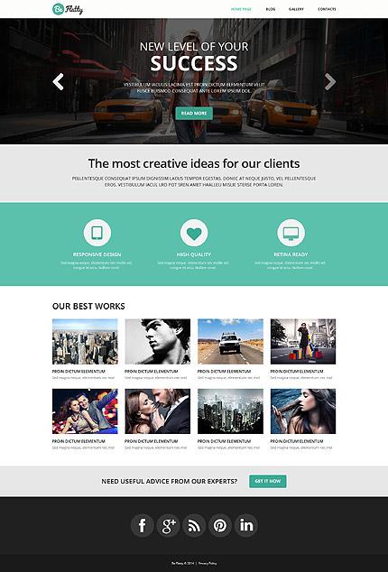 WordPress Theme/Template 52039 Main Page Screenshot
