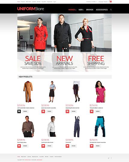 osCommerce Template 52046 Main Page Screenshot