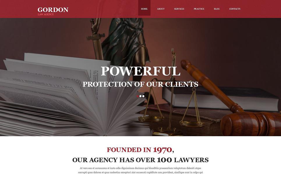 Ügyvédi Irodák Muse sablon New Screenshots BIG