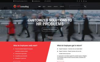 Public Relations Responsive Website Template
