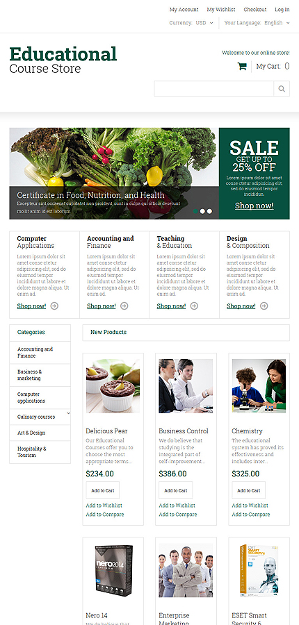 Magento Theme/Template 52055 Main Page Screenshot