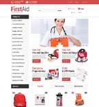 Medical PrestaShop Template 52057