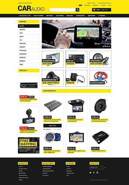 Magento Theme/Template 52061 Main Page Screenshot