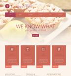 Cafe & Restaurant WordPress Template 52062