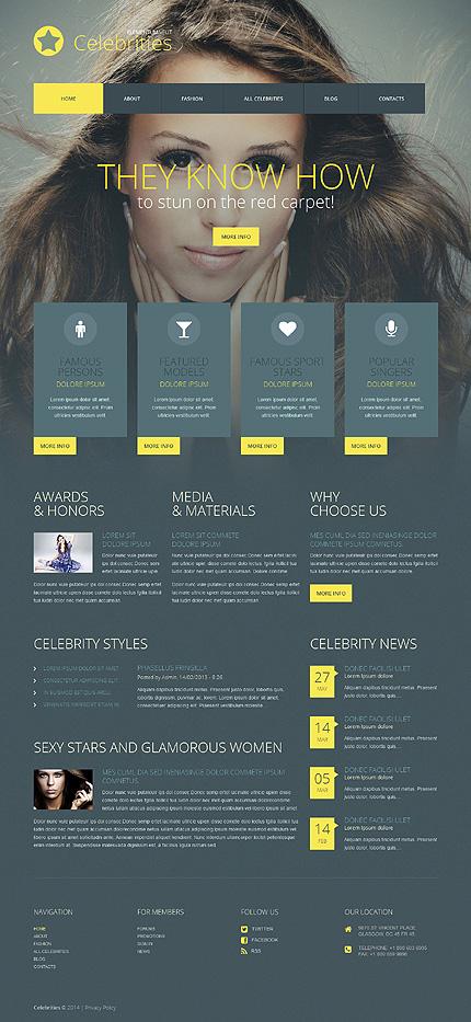 WordPress Theme/Template 52063 Main Page Screenshot