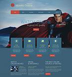 Entertainment WordPress Template 52065