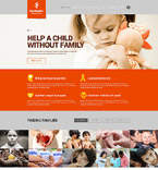 Charity Website  Template 52070