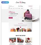 Food & Drink Website  Template 52072