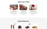 Sweet Bakery - Cake Shop Elegant Multipage HTML Website Template