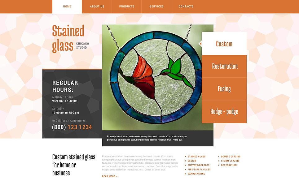 Website template over Raamdecoratie  New Screenshots BIG