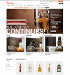 Food & Drink ZenCart  Template 52082