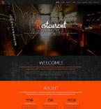 Cafe & Restaurant WordPress Template 52083