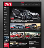 Cars WordPress Template 52085