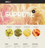 Agriculture WordPress Template 52086