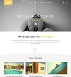 Architecture WordPress Template 52089