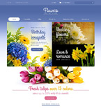 Flowers Shopify Template 52090