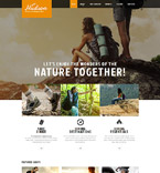 Sport Website  Template 52091