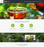Food & Drink Website  Template 52093