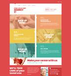 Medical Joomla  Template 52098