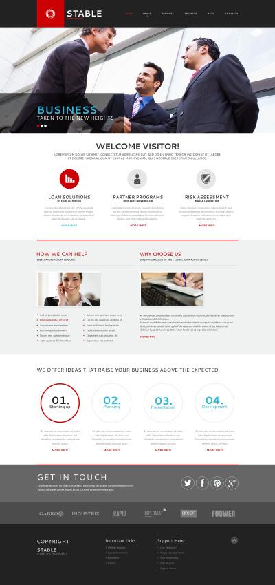 Business Responsive Шаблон сайту