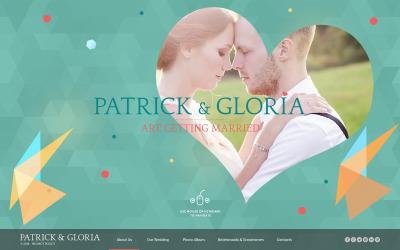 Wedding Album Šablona Webových Stránek