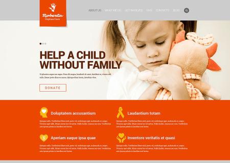 Child Charity Responsive