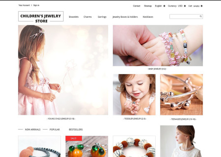 Childrens Jewelry Store