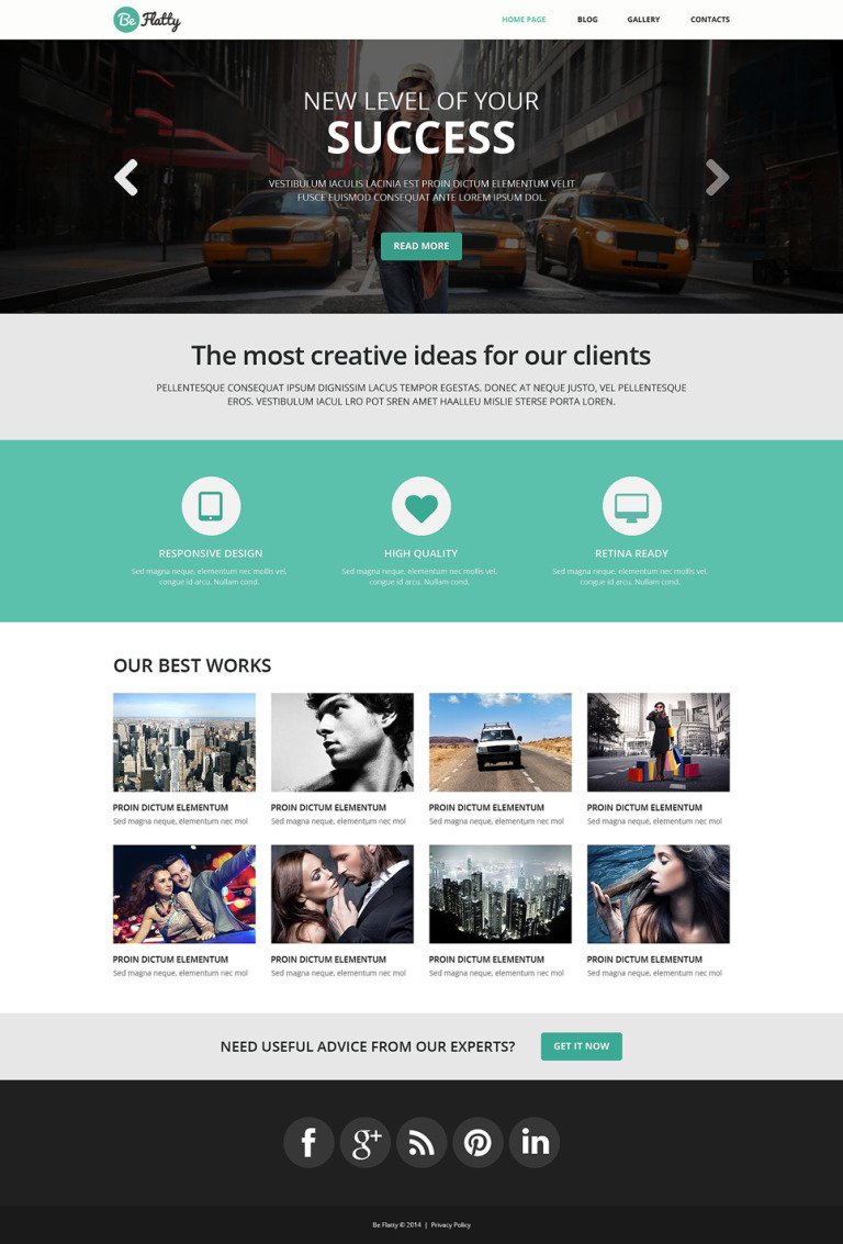 Creative Project WordPress Theme New Screenshots BIG