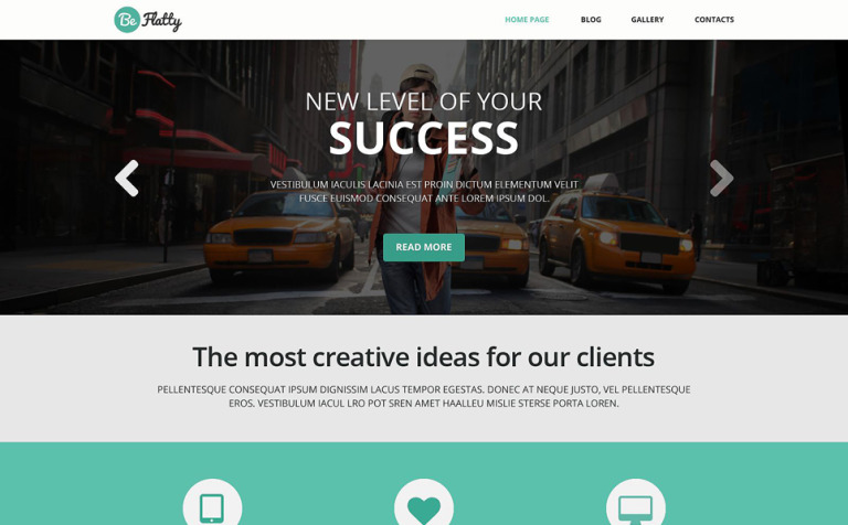 Creative Project WordPress Theme