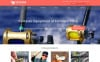 """Fishing Gear"" Responsive WooCommerce Thema New Screenshots BIG"