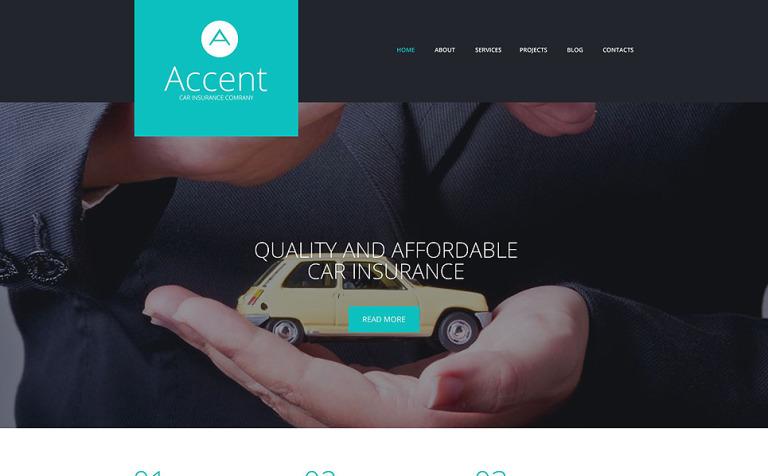 Insurance Responsive WordPress Theme