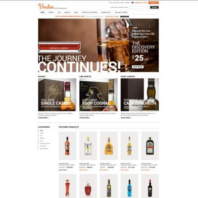 Food & Drink Tema ZenCart