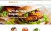 Plantilla Web para Sitio de Cafeterías y Restaurantes New Screenshots BIG
