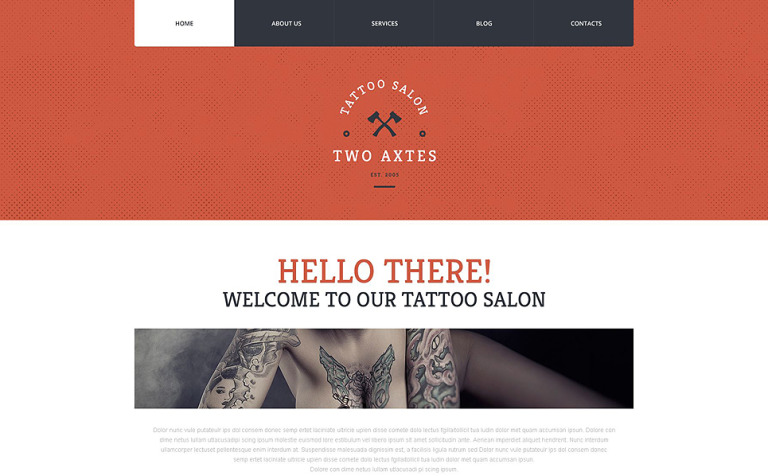 Quality Tattoo Artistry WordPress Theme