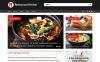 Responsive Restoran Yorumları  Web Sitesi Şablonu New Screenshots BIG