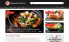 Responsive Website Vorlage für Restaurant-Bewertungen  New Screenshots BIG