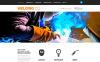 Responsive Website Vorlage für Schweißen  New Screenshots BIG