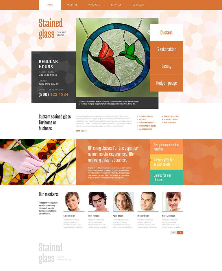 Window Decor Website Template New Screenshots BIG