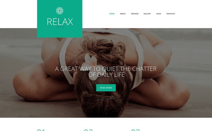 Relax - Yoga Responsive WordPress Theme