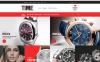 ZenCart шаблон на тему годинники New Screenshots BIG
