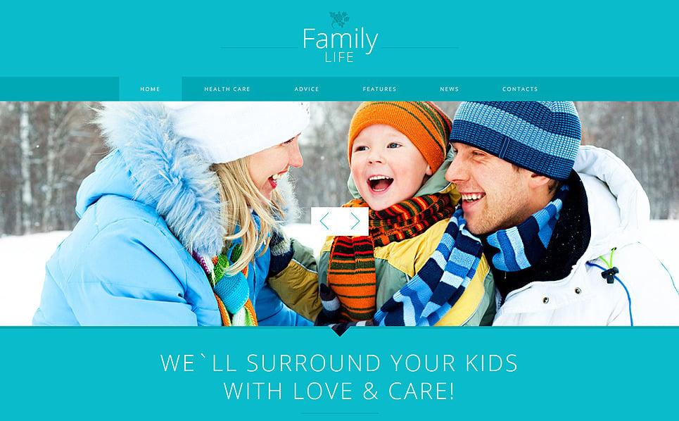 Responzivní Joomla šablona na téma Rodinné centrum New Screenshots BIG