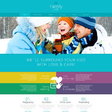 Family Web Templates | Website Templates