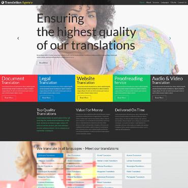 Купить  пофессиональные Joomla шаблоны. Купить шаблон #52101 и создать сайт.