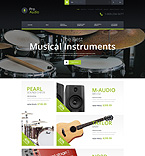 Music OpenCart  Template 52109