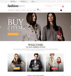 Fashion Magento Template 52111