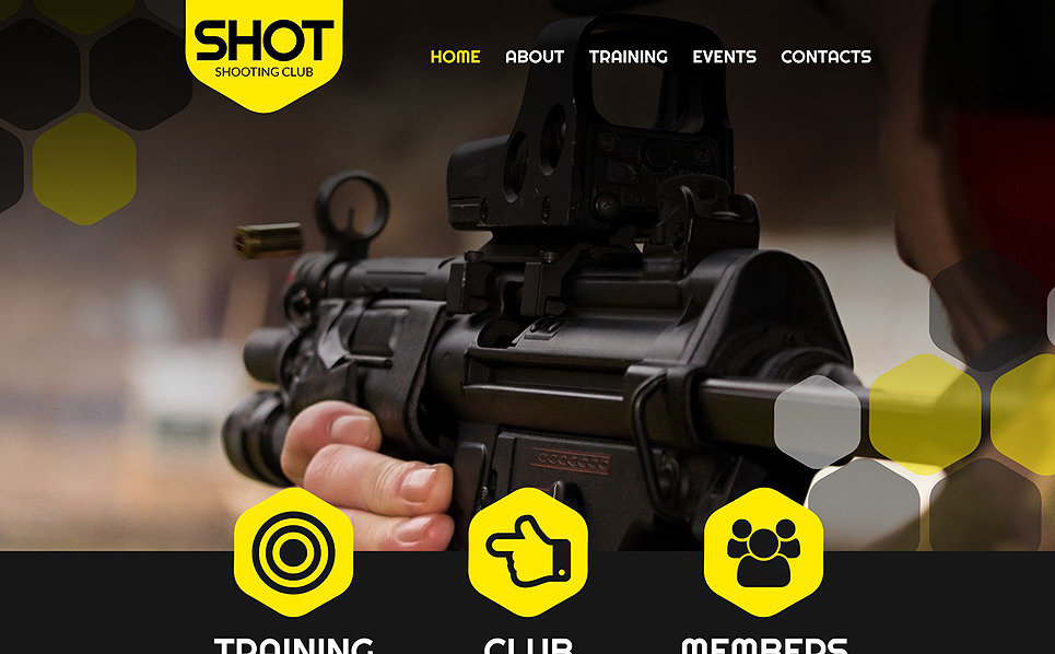 Responsive Atıcılık  Web Sitesi Şablonu New Screenshots BIG