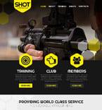 Sport Website  Template 52113