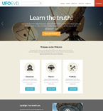 Science Website  Template 52117